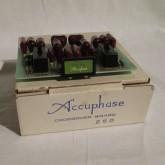 アキュフェーズ・チャンネルデバイダー専用周波数ボードです。