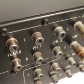 RCA端子のコンディションです。使用感・年式を感じさせる印象があります。