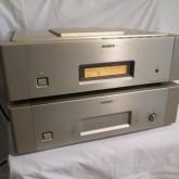 SONY セパレート型 CD システム最終モデルです。