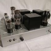 双3極管 5998 シングル パワーアンプです。