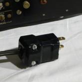 AC ケーブル先端はプラグが HUBBELL 製に交換してあります。