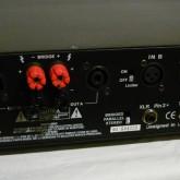 inputs は XLR (2-hot) と balanced phone 、outputs はジョンソンターミナル(バナナ端子可)と spi-con が採用されています。