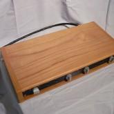 製品はウッドケースに収められています。このウッドケースは純正品ではなく、このML-7 に合わせて単体製作されたものです。