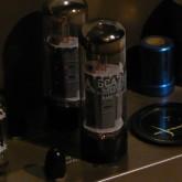 出力管は 松下 6CA7 matched quad を装着しました。