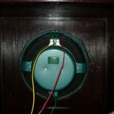 エンクロージャーに収められているユニットです。601C (グリーン) です。