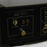 AD-250 オプションフォノ入力ボードが付属しています。 MM/MC カートリッジがダイレクトに入力可能です。
