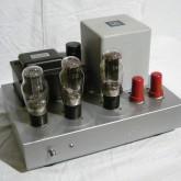 自作2A3モノラルパワーアンプ(ペア)です。非常に余裕のあるトランス類、音質最優先思想で創られています。