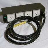 オーラルシンフォニクス の4個口 AC タップです。