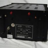 初期製品です。dunping factor 切り替えスイッチ・XLR 入力は装備されておりません。