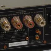 スピーカー出力はドイツの WBT 製端子が採用されています。