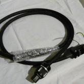 トランスペアレント(USA)の AC ケーブルです。海外製 AC ケーブルは最近少なくなりました。