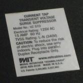 製品底部・製品表示の拡大写真です。