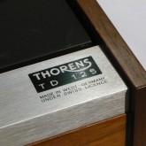 thorens の中でもお手ごろ・お買い得な TD-125 です。