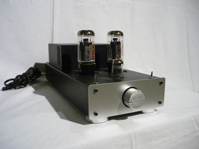 EK japan TU-879R tube stereo power amplifier kit (completed