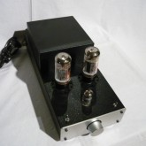 ドライバー用の 12AX7 ×1 と出力管 6L6GC × 2 で構成されています。