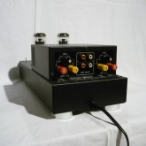入力は RCA × 2、トグルスイッチで選択できます。