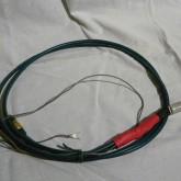 トーンアームケーブルはケーブル途中で市販品に改造されています。導通チェック済です。