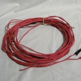 スピーカーケーブルが付属しています。ケーブルは AIW 16AWG TP 3.3mです。