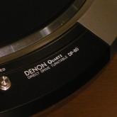 フォノモーターは DENON DP-80 です。当社製中では当時の最高峰フォノモーターです。