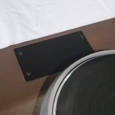 キャビネットは [2 arm] 対応です。サブアーム・ベースボードは未加工の状態です。