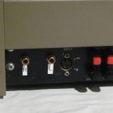 入力は RCA に改造されています。QUAD 以外のメーカーのプリアンプとの接続も容易です。